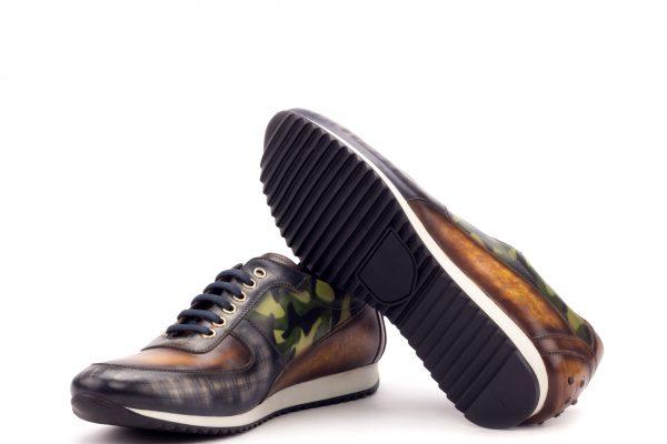 Corsini Sneaker - Patina Heavy- Patina Grey-Patina Cognac-Patina Camo Khaki-Ang9